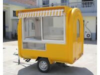 Mobile Catering Trailer Burger Van Hot Dog Ice Cream Cart