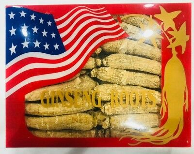 American Wisconsin Ginseng Root Long Thin 6-8 Year 美國花旗長尾參 (4 Oz.) Free US Ship Wisconsin American Ginseng