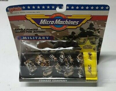 Micro Machines Combat Company Collection #11 Factory Sealed