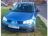 Renault Megane 1.6L 2003 Manual Not/corsa/bmw/vw/golf
