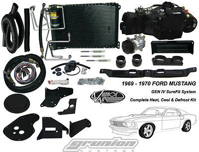 Ford Mustang w/AC 1969 1970 Heat Air Conditioning Defrost Vintage Air Kit