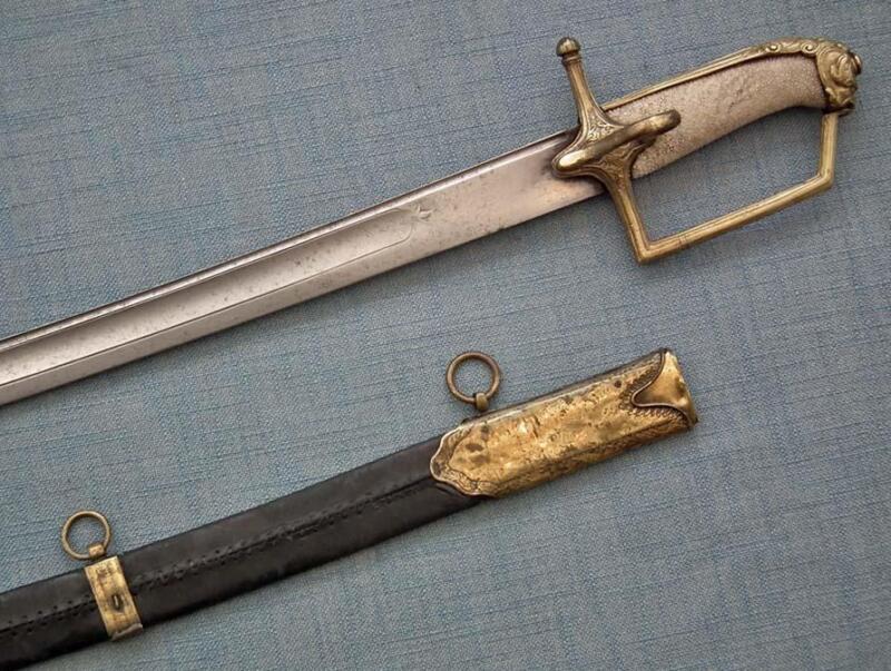 Antique 18th Century Russian Sword Caucasian Blade Made in Caucasus Dagestan
