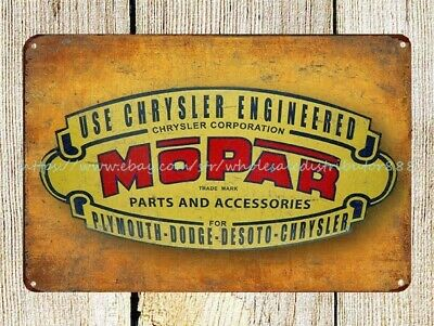Use Chrysler Engineered Chrysler Corporation Mopar Parts and Accessories for
