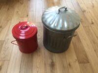 Pair of bins