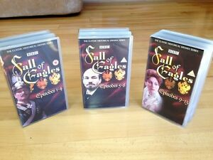 BBC Fall Of Eagles VHS Tapes - Episodes 1-13 (except #7&8)
