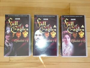 BBC Fall Of Eagles VHS Tapes - Episodes 1-13 (except #7&8) Kitchener / Waterloo Kitchener Area image 2