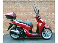 Honda SH 300, ONLY 498 miles with extras and fresh MOT