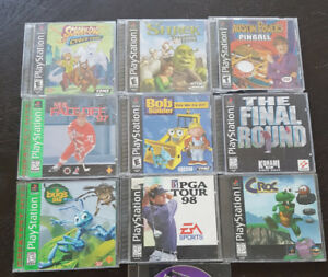 Original Sony Playstation / PS1 / PS One Games