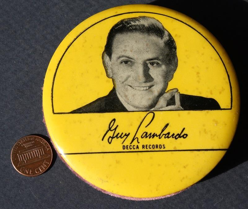 1940s WWII Era Big Band Leader Guy Lombardo Decca Records cello cleaner-SCARCE!