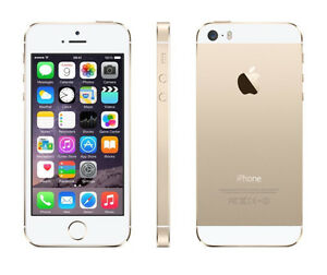 iPhone 5s 16gb gold unlocked - excellent condition