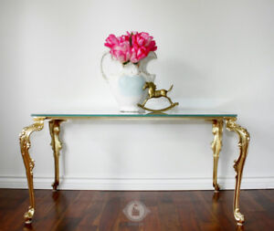 Old Hollywood Glamour Coffee Table