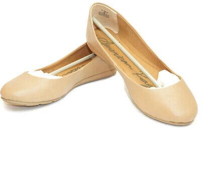 American Rag Womens 8 Ballet Flats Nude Aellie1 Closed Toe Ballet Flats Slip Ons Closed Toe Slip Ons