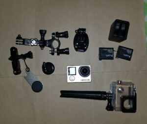 Gopro Hero 4 black with accessories