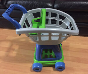 Child's Play Plastic Shopping / Grocery Cart Basket