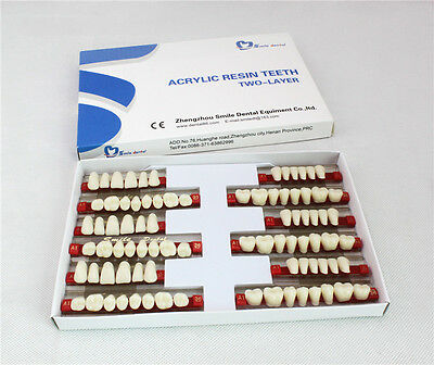 3sets Of 281 Dental Acrylic Teeth Denture Vita Color A2 L501 Brand New