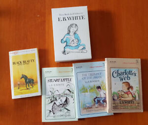 Charlotte's Web and other books by E.B. White