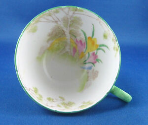 Rare Antique Shelley China Crocus Pattern Cup 13254 London Ontario image 3