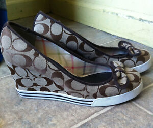 Coach Sweetie Wedges Size 8.5