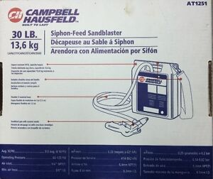 Sandblaster - 30-Pound Capacity - Campbell Hausfeld AT1251 Cambridge Kitchener Area image 2