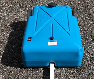 Tote-Portable Waste Water 30 gallon tank for Rvs / Campers- kirk
