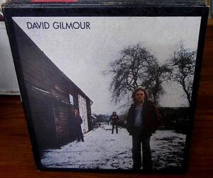 DAVID GILMOUR / PINK FLOYD Vinyl Album - His 1st Solo 1978
