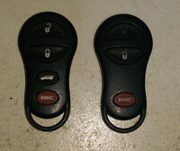 Dodge remote keyless entry key FOB  (GQ43VT17T)