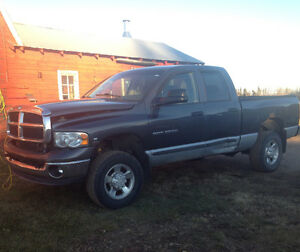 2004 Dodge Power Ram 2500 Grey Pickup Truck