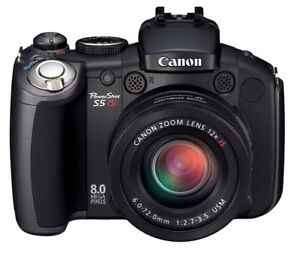 CAMÉRA CANON POWERSHOT PRO SERIES S5IS 8.0MP, 12X ZOOM, MINT