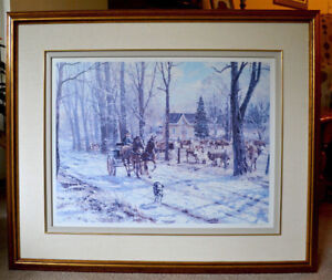 Maple Haven Farm - Signed by Peter Etril Snyder - Print 60/250