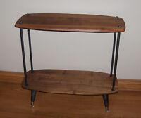 Mid century modern Étagère Teck Table Console Crédence Teak