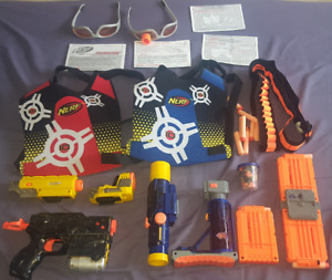 Nerf blaster and accessories