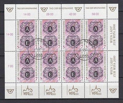 Österreich gestempelt Kleinbogen  MiNr.  2220  Tag der Briefmarke.1997