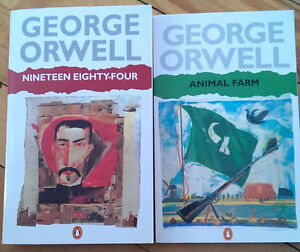 Maybe George Orwell had a time machine but wanted to keep quiet