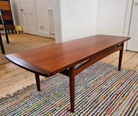 G Plan Fresco mid century teak coffee table by V.W Wilkins