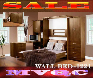 classic wall beds full sets, drawers, wardrobes, dressers,1321