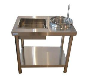 Stainless steel Commercial Kitchen Restaurant work table 170654
