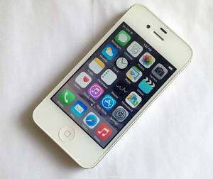 Apple iPhone 4S 16GB White Factory Unlocked Excellent Condition