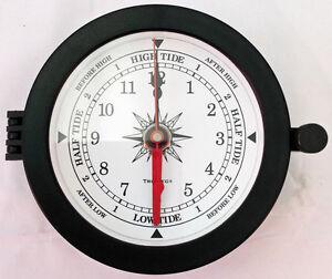Boat tide clock and fishing barometer set ebay for Barometer and fishing