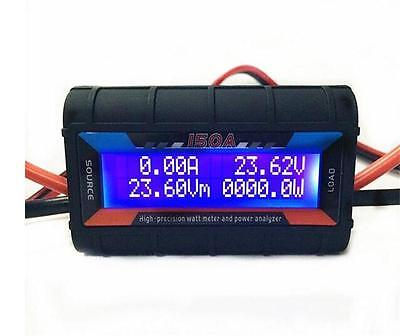 Rc Watt Meter High Precision 4.8v-60v 150a Lcd Gt Power Amp Volt Tester Analyzer