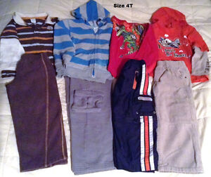 Please Mum clothes for boys, size 4T/5T