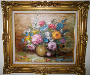 Classic Flowers in Pot by J. Reme West Island Greater Montréal image 1