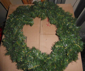 Lots and lots of fake green Christmas wreaths $ 5-$ 10 Kitchener / Waterloo Kitchener Area image 5
