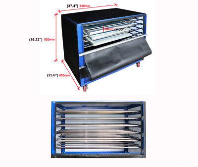1200w 6-layer Silk Screen Printing Drying Cabinet Warm Exposure Unit 35x23.5