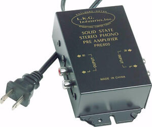 BRAND NEW SOLID STATE STEREO PHONO PRE-AMP PRE AMPLIFIER BOX Windsor Region Ontario image 1