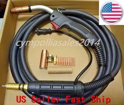 Us Seller Mig Welding Gun 15 250a Millermaticironman 230250275beta Mig 2510