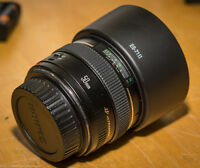 Canon 50 mm F1.4 lens for sale.