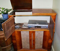 Art Deco Radio Cabinet