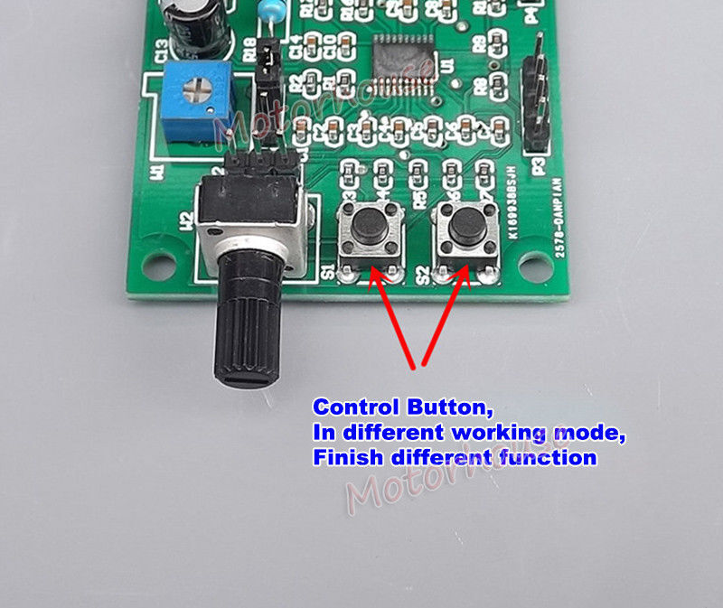 DC 5V-12V Multi-function Mini Stepper Motor Driver Board Speed Controller Module