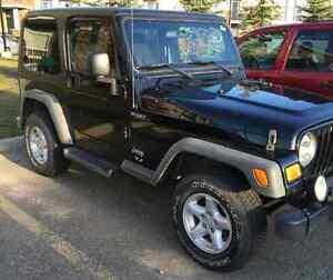 2005 jeep TJ sport Edmonton Edmonton Area image 1