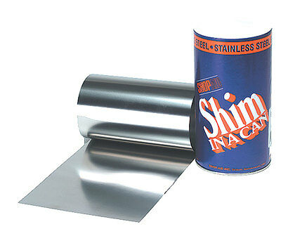 .001 Stainless Steel Shim Stock Roll